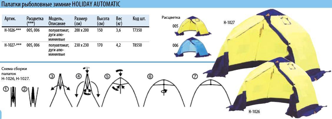 Как сделать палатку на льду